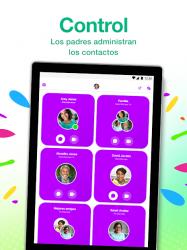 Captura 8 de Messenger Kids – La app de mensajes para niños para android