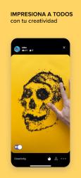 Screenshot 7 de SketchAR Crear Arte De Pintura Dibujar para android