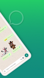 Captura 4 de Whats five nights Stickers para android
