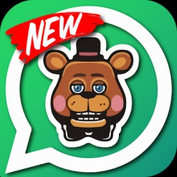 Captura de Pantalla 1 de Whats five nights Stickers para android