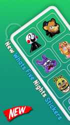 Captura de Pantalla 2 de Whats five nights Stickers para android