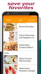 Screenshot 5 de Recipes Home - Free Recipes and Shopping List para android