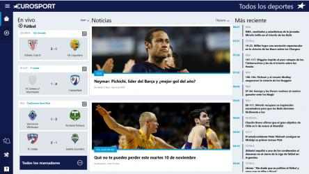 Screenshot 1 de Eurosport.com para windows