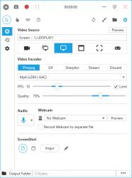 Captura de Pantalla 1 de Cool Screen Recorder para windows