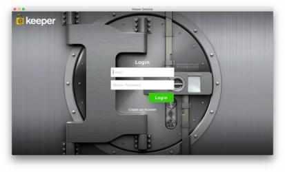 Captura 1 de Keeper para mac