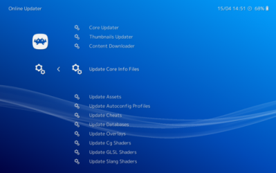 Screenshot 2 de RetroArch para windows
