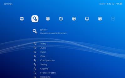 Captura de Pantalla 1 de RetroArch para windows