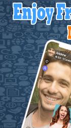 Captura de Pantalla 2 de New 𝑶𝒎𝒆𝒈𝒆𝒍 chat Tips live Video call app para android