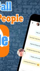 Captura 4 de New 𝑶𝒎𝒆𝒈𝒆𝒍 chat Tips live Video call app para android