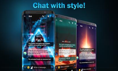 Captura de Pantalla 3 de Nueva versión messenger 2021 para android