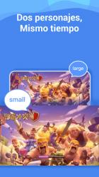 Screenshot 4 de Heyy-2Space: 2 cuentas para 2 whatsapp, clone apps para android