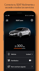 Screenshot 2 de SEAT CONNECT App para android