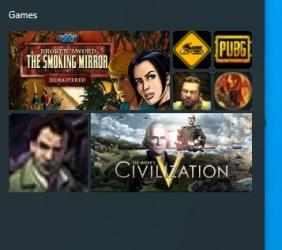 Captura de Pantalla 3 de Steam Game Tiles para windows