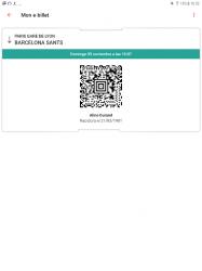 Captura 11 de OUI.sncf : Billetes de Tren y Autobús para Francia para android