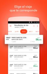 Screenshot 3 de OUI.sncf : Billetes de Tren y Autobús para Francia para android