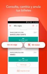 Captura de Pantalla 5 de OUI.sncf : Billetes de Tren y Autobús para Francia para android