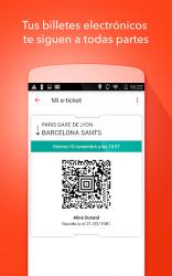 Screenshot 6 de OUI.sncf : Billetes de Tren y Autobús para Francia para android
