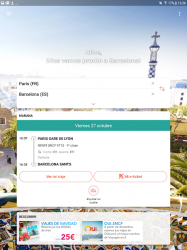 Captura de Pantalla 7 de OUI.sncf : Billetes de Tren y Autobús para Francia para android