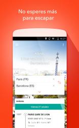 Captura 2 de OUI.sncf : Billetes de Tren y Autobús para Francia para android