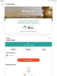Screenshot 9 de OUI.sncf : Billetes de Tren y Autobús para Francia para android