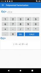 Captura de Pantalla 2 de Polynomial Factorization para android