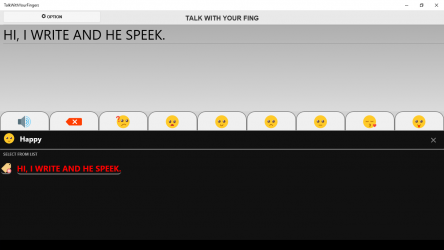 Screenshot 4 de TALK WITH YOUR FINGERS para windows