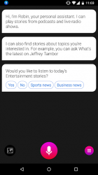 Captura de Pantalla 3 de Robin - AI Voice Assistant para android