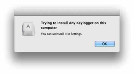 Captura 2 de Any Keylogger para mac