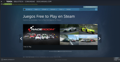 Captura 1 de Steam para windows