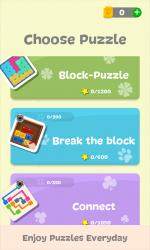 Screenshot 11 de Puzzledom - Classic puzzles all in one para windows