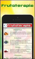 Captura de Pantalla 4 de Frutoterapia para windows
