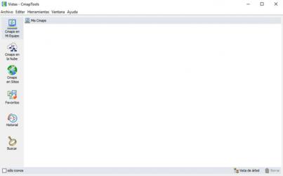 Captura de Pantalla 1 de CmapTools para windows