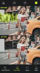 Captura de Pantalla 3 de Photo Retouch - AI Eliminar objetos de las fotos para android