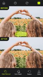 Captura 6 de Photo Retouch - AI Eliminar objetos de las fotos para android