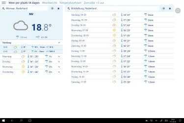 Screenshot 2 de Buienradar.nl para windows