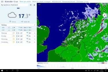 Captura 1 de Buienradar.nl para windows