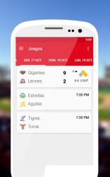 Captura 2 de Béisbol Dominicana 2020 - 2021 para android