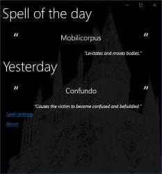Imágen 1 de Harry Potter Spell Daily para windows