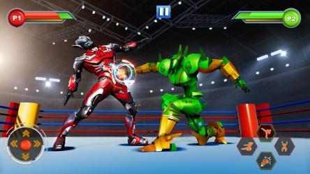Captura de Pantalla 2 de Real Robot fighting games – Robot Ring battle 2019 para android