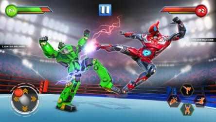 Captura de Pantalla 8 de Real Robot fighting games – Robot Ring battle 2019 para android