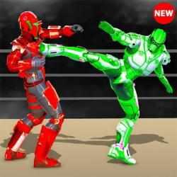 Captura 1 de Real Robot fighting games – Robot Ring battle 2019 para android