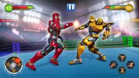 Captura 5 de Real Robot fighting games – Robot Ring battle 2019 para android