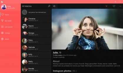 Screenshot 6 de 6tin - for Tinder para windows