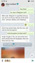 Screenshot 2 de Unigram - A Telegram universal experience para windows