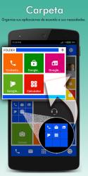 Captura 4 de Win 10 metro launcher theme 2020 - pantalla de para android