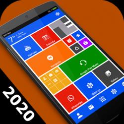 Captura de Pantalla 1 de Win 10 metro launcher theme 2020 - pantalla de para android
