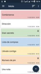 Screenshot 3 de Bloc de notas para android