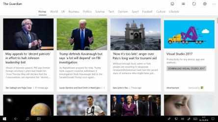 Screenshot 1 de News Reader for The Guardian para windows