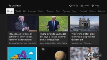 Screenshot 5 de News Reader for The Guardian para windows