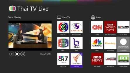 Captura de Pantalla 2 de Thai TV Live para windows
